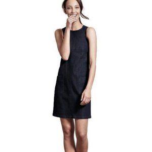 Women's BODEN Black Denim Dress
